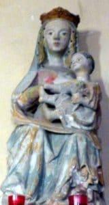 Vierge à l'enfant XVème siècle.