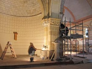 Restauration de Saint Martin (Castres Gironde)